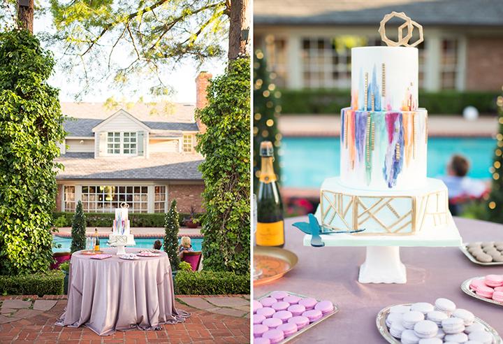 ElyFairPhotography© | Surprise Wedding | Oklahoma Backyard Wedding | Emerson Events | Amy Cakes