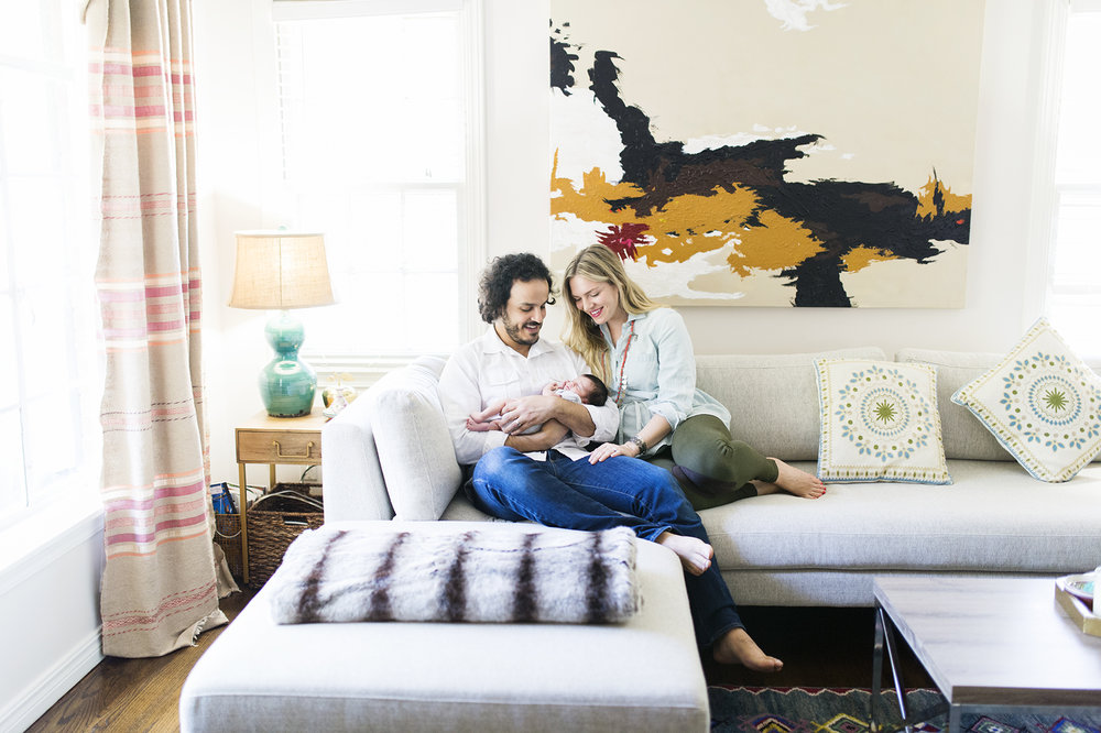 Oklahoma City Newborn Photographer | Lifestyle Newborn Session