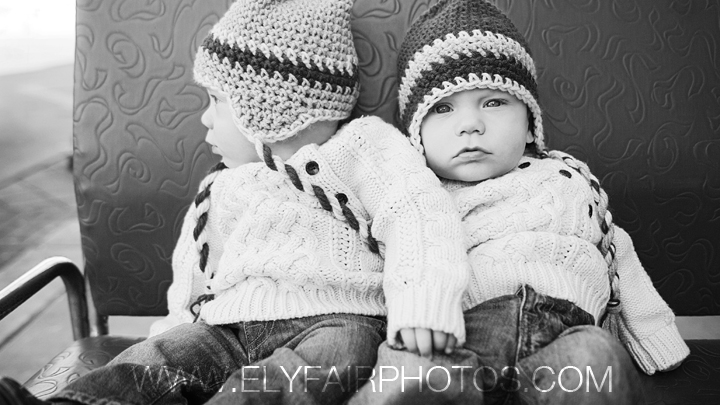 Twins in Hats