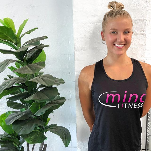 Trainer Jam 👸🏼 .  Jam is our youngest, newest addition to the Minc family! You can always rely on her for some tough love, technique tips and plenty of laughs 💪🏼🙃 . You'll find her in the studio almost every day of the week! Whether she is taking the session or training beside you, she's bound to have you sweating & smiling in no time 🥰 #teamminc