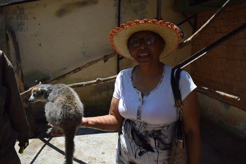 Tiana og lemuren