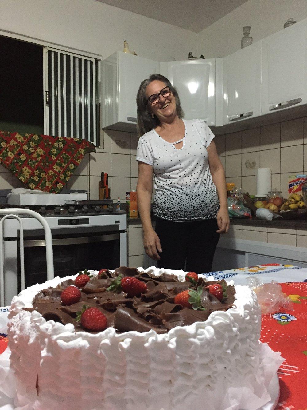 Herligste Vera, vertsmoren vår, hadde bursdag i romjulen