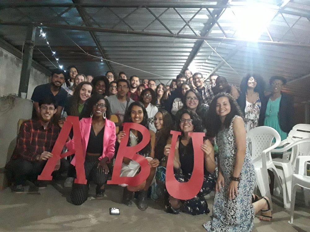 Sommerferie betyr også pause fra ABU, så 7. desember var vi på ABU-avslutning. Vi snakkes i mars!