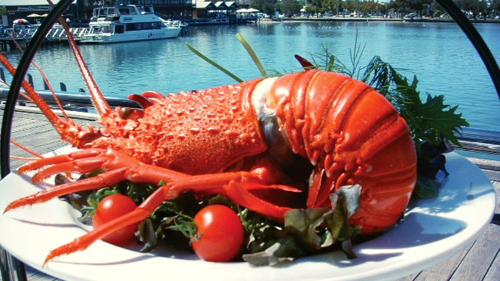 Savour delicious local seafood