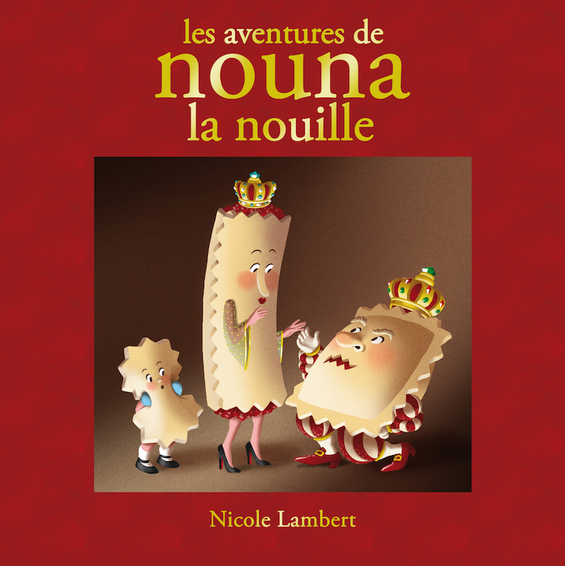 Book signature - Paris kids boutique Nicole Lambert Nouna La Nouille