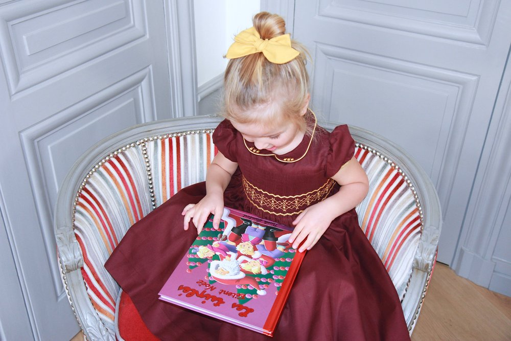 https://charlottesydimby.com/products/handmade-smocked-dress-nature-cerise-girl-fall-winter-gold-bordeaux-party-christmas-classic-chic-girl-frenchstyle