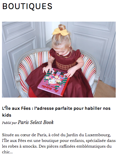 Paris Select book