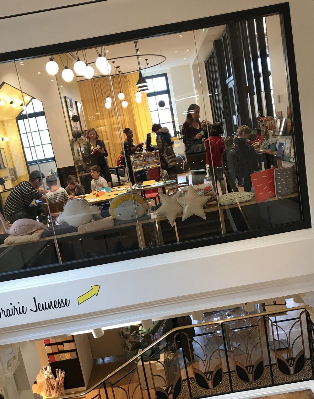 Le Bon marché shop for kids in Paris
