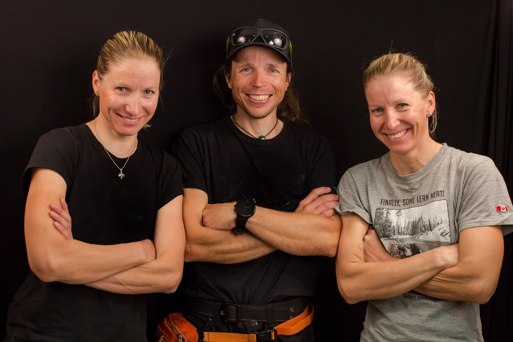 Tanja Schmitt, Matthias Scherer and Heike Schmitt - Picture by Laurent Lafouche