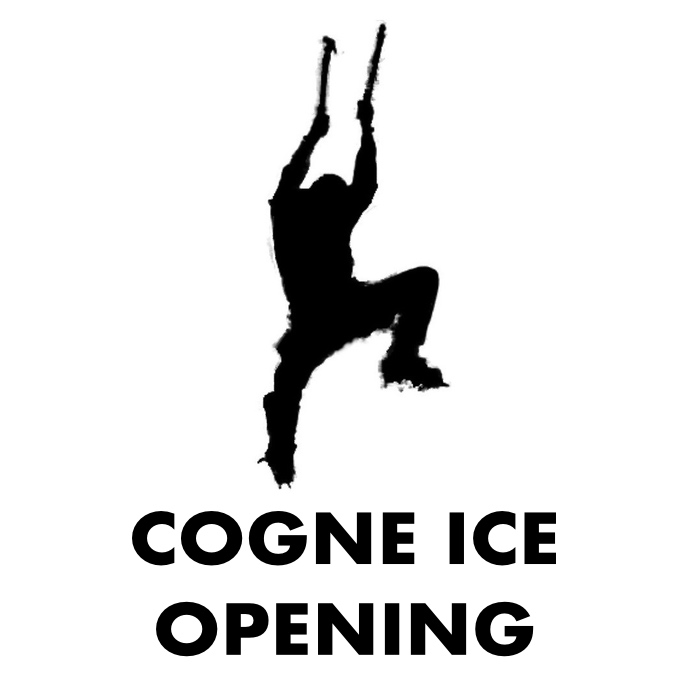 COGNE ICE OPENING
