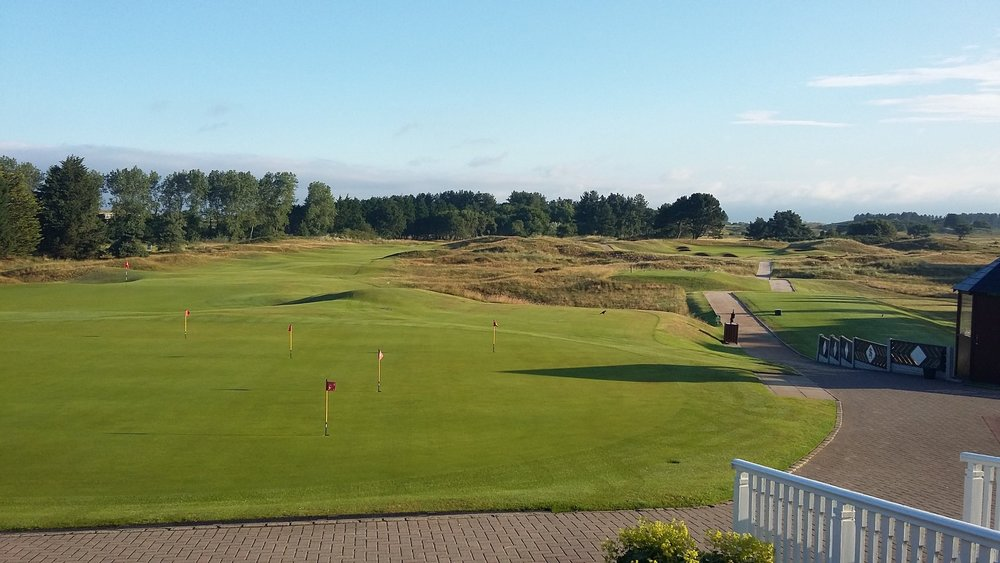 S&A 1st Tee & 18th Green