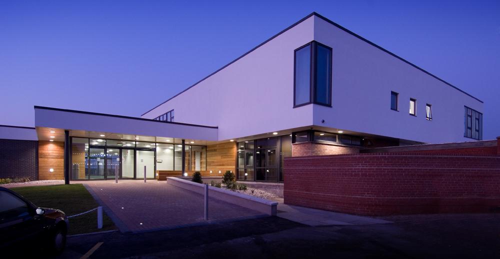 West Lancs GC Clubhouse