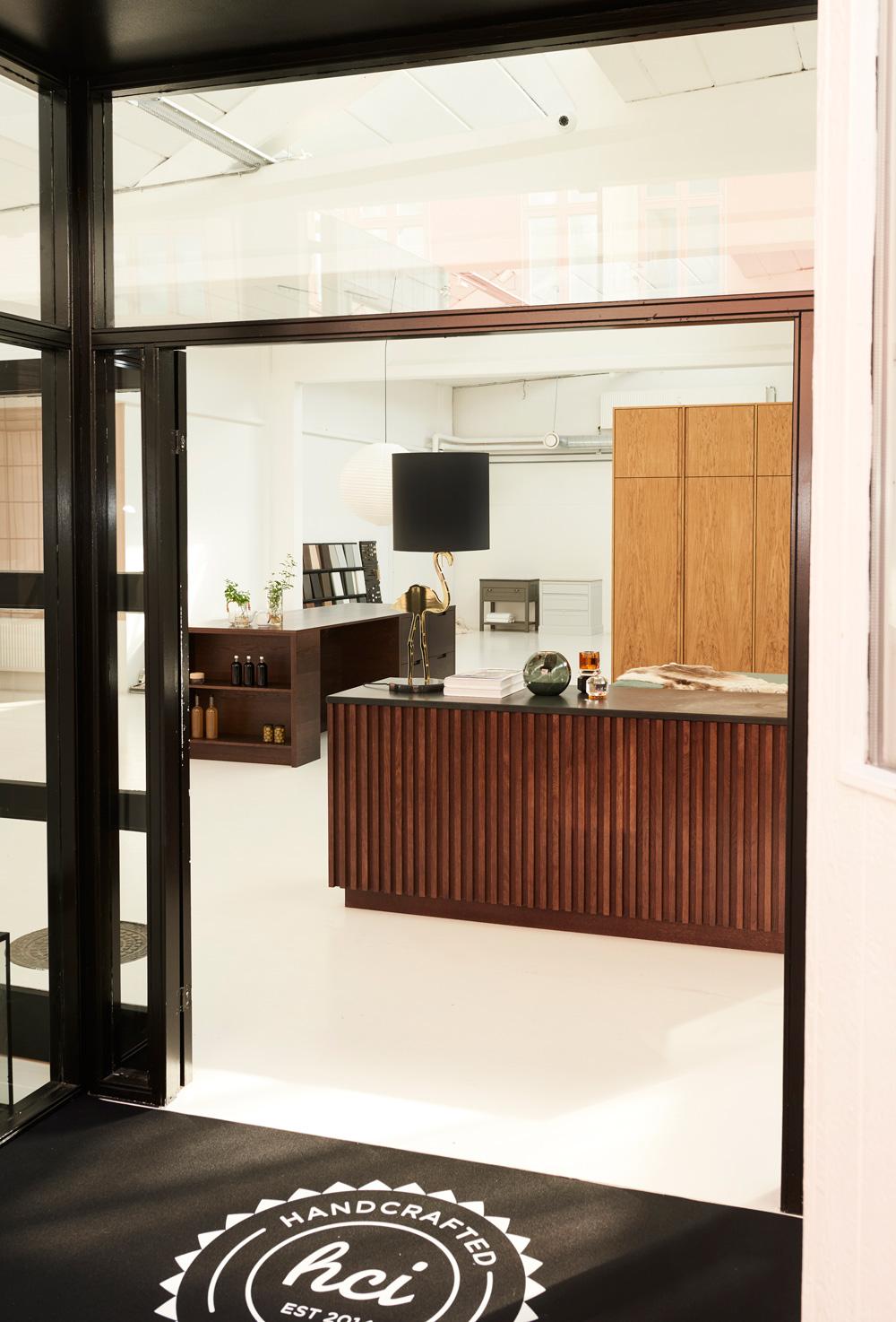 Besøg vores showroom.