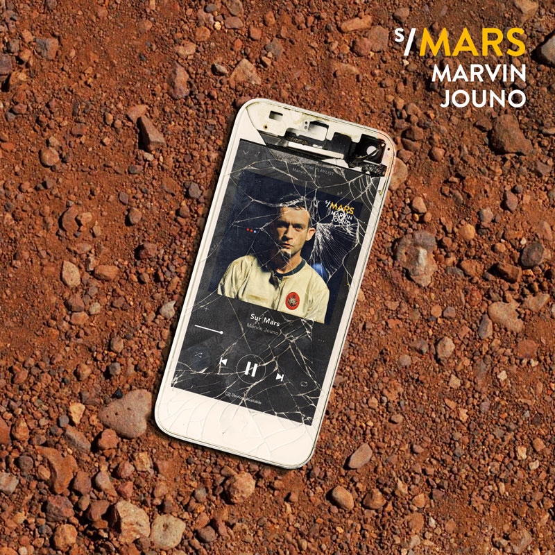 Marvin Jouno - sur mars single