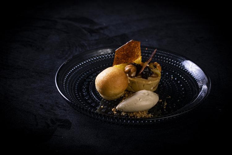 Marcel van Lier   Ganzenlever sinasappel koffie hazelnoot