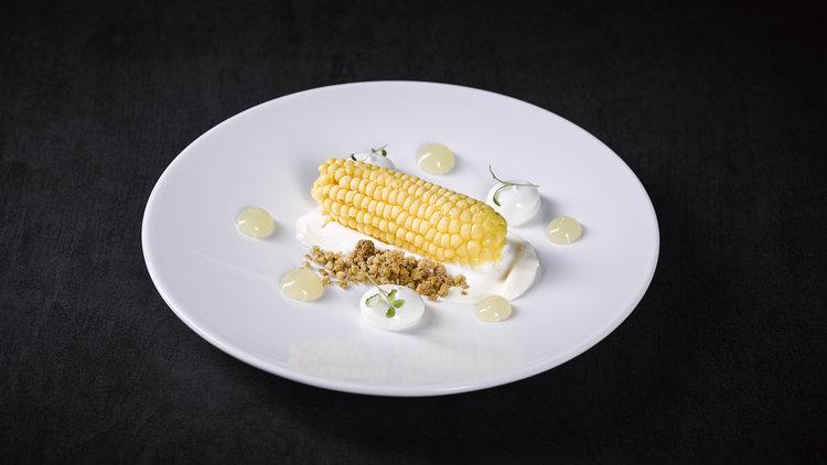 "Dennis Huwae | ""Mais"" Popcorn/lemon/cocos"