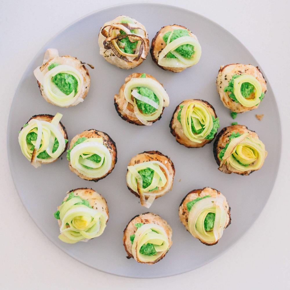 Food By Annabel - Recipe Development Chicken & Leek mini pies
