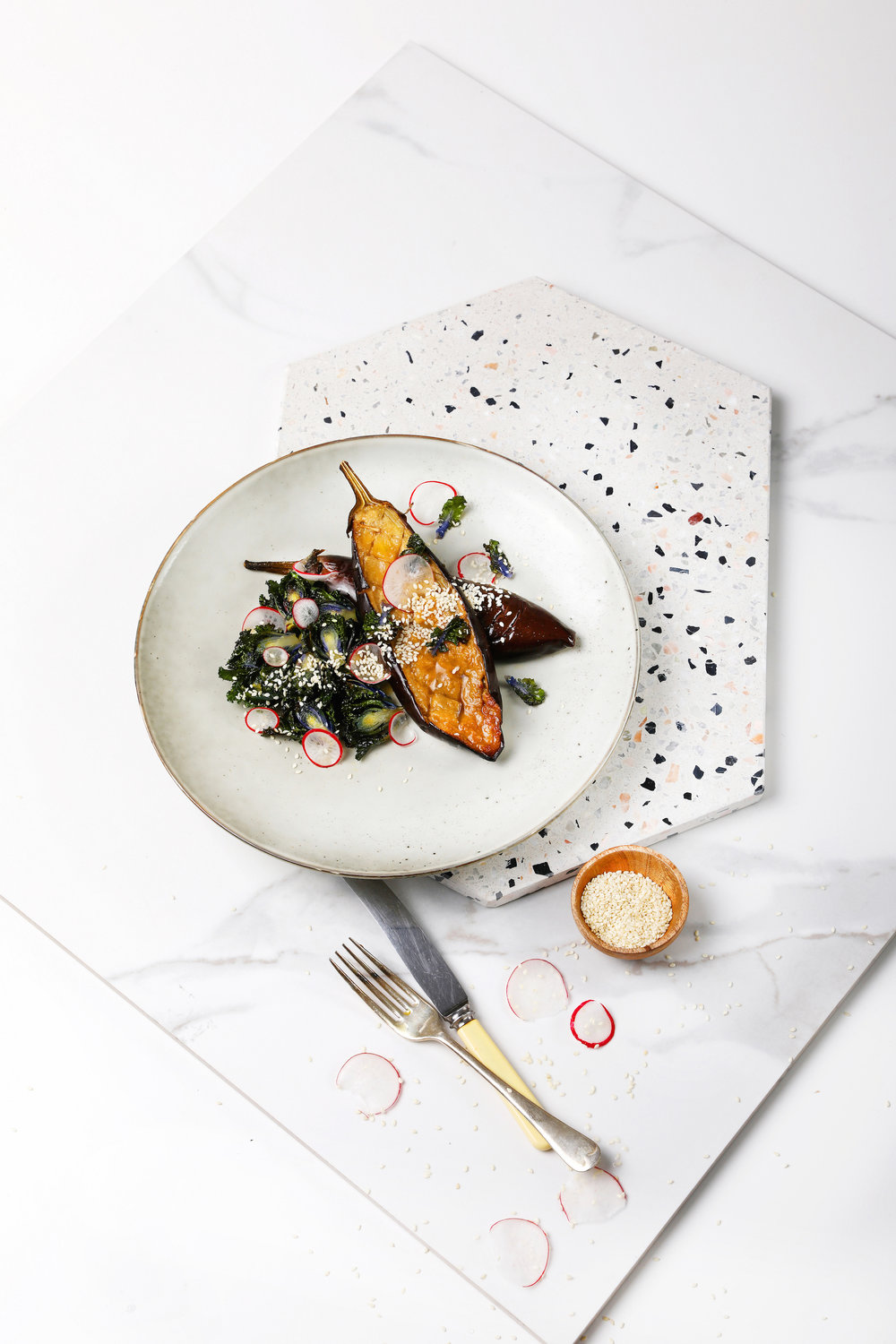 Food By Annabel Food Styling - Miso Eggplant
