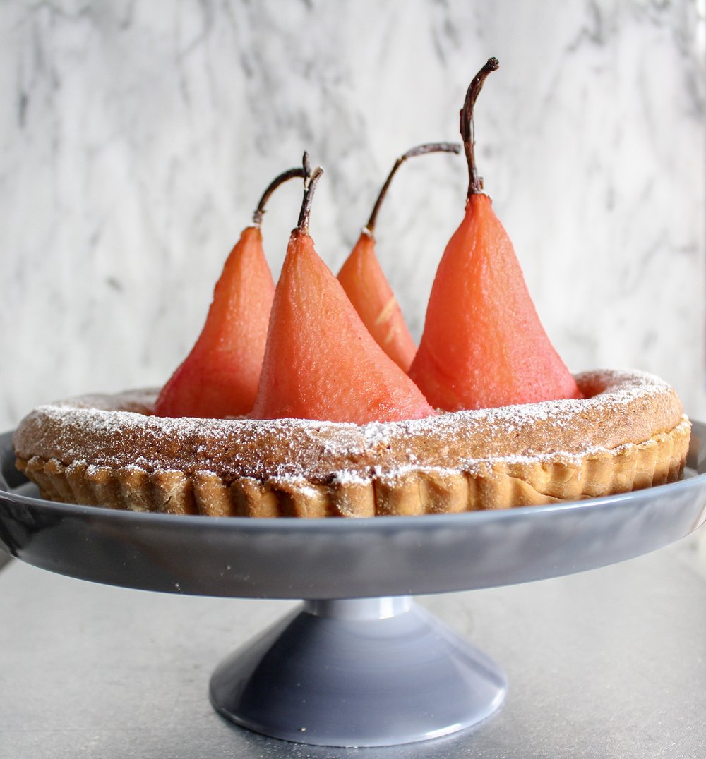 Food By Annabel Food Styling Pear Tart