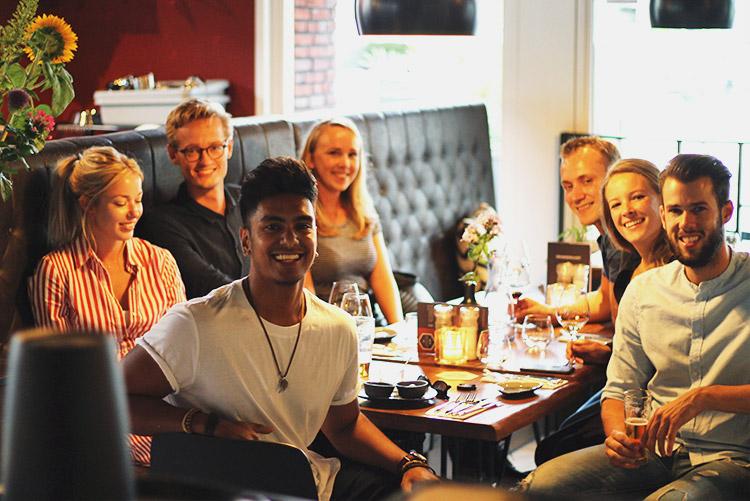 Uit eten met een groep in Amsterdam   Restaurant NELIS West