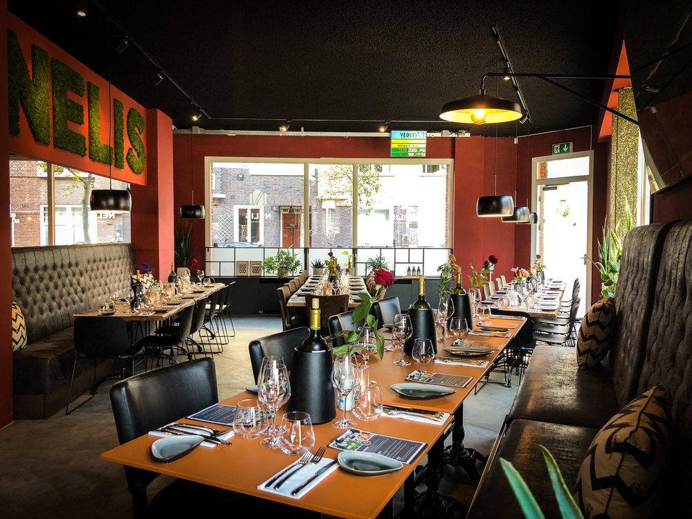 Uit eten groep Amsterdam   Restaurant NELIS West