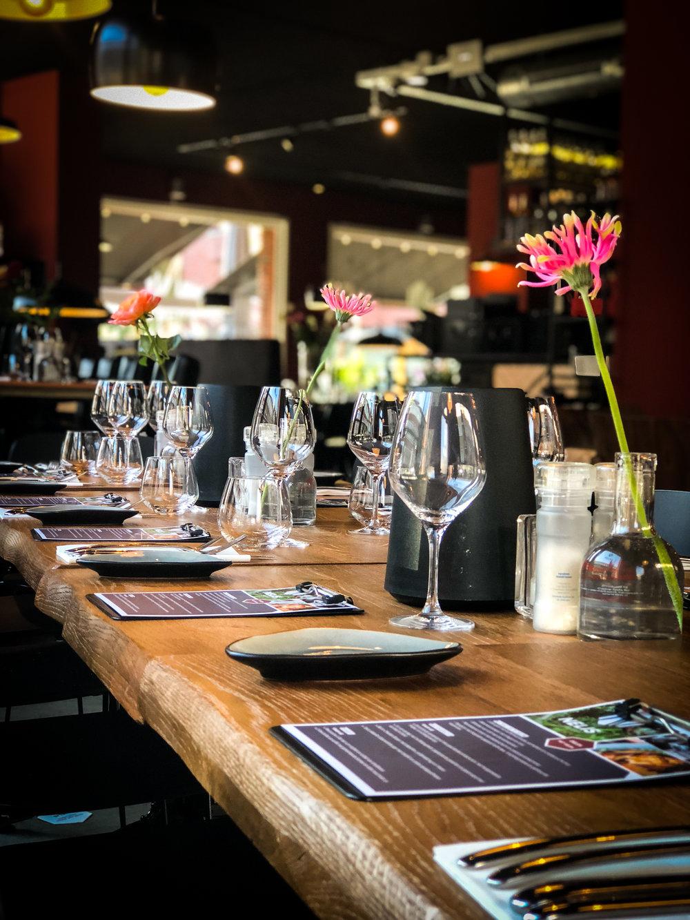 Bedrijfsborrel   Bedrijfsfeest   Bedrijfsdiner Amsterdam   Restaurant NELIS West