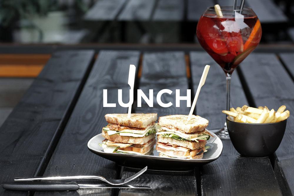 Lunch Menu NELIS West Amsterdam