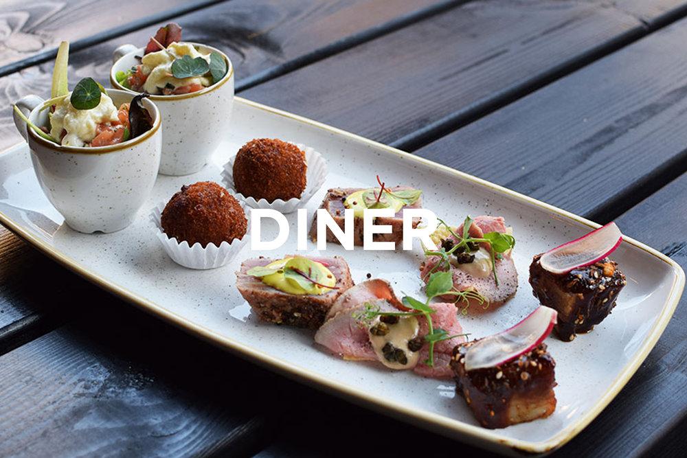 Diner Kaart NELIS West Amsterdam