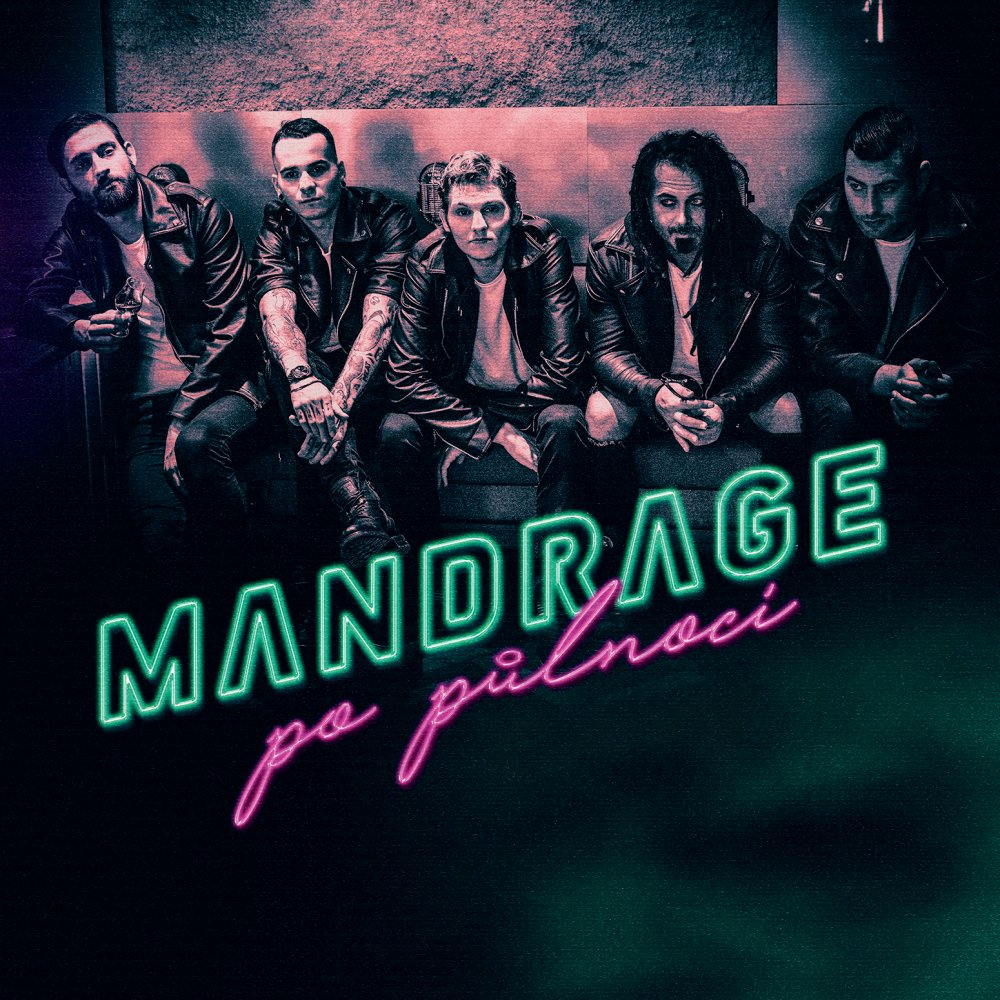 Mandrage - Po Půlnoci (album cover)