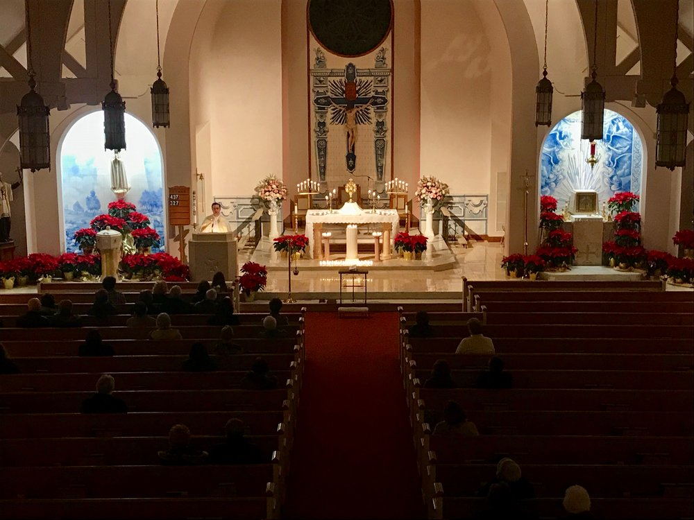 - On January 22, our parish community gathered to pray for the sanctity of all human life before Our Lord in the Blessed Sacrament.
