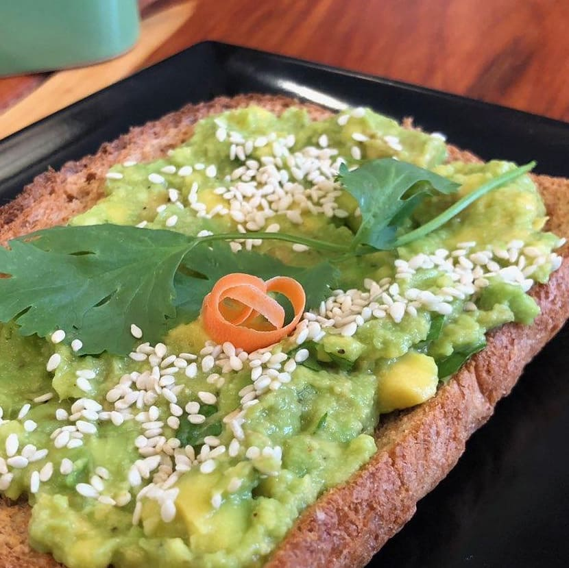Organic Avocado Toast House of Leaf and Bean