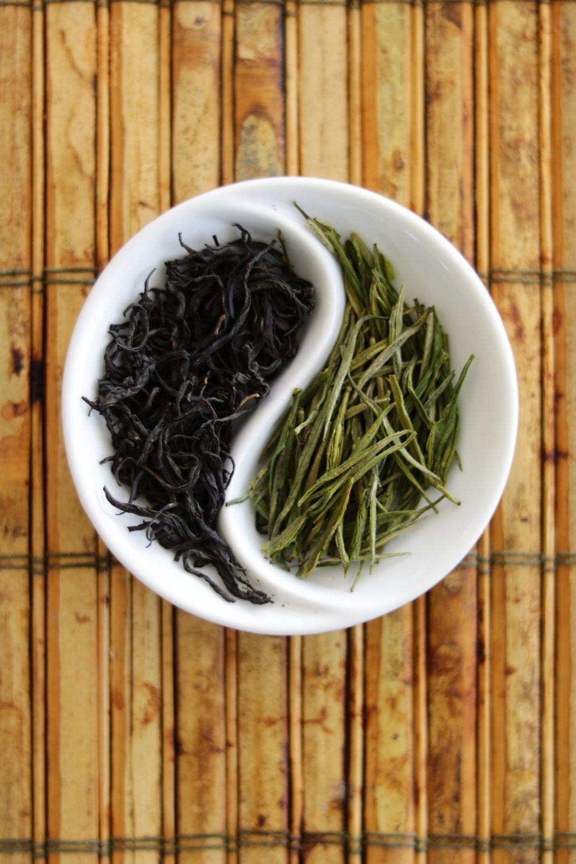 green and black tea leaves jacksonville tea house