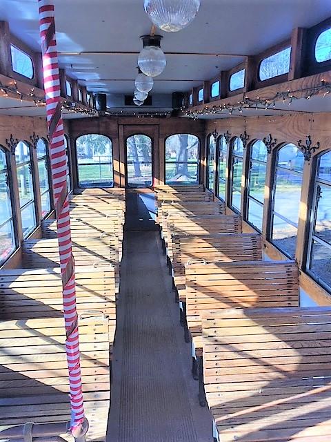 Crozet Trolley-xmas interior.jpeg