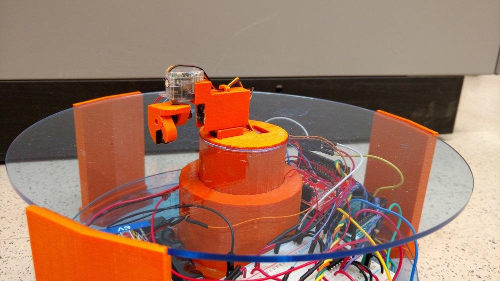 One-Inch Robot(SHRIMP) - Undergraduate Senior Thesis Project: 2015-2016