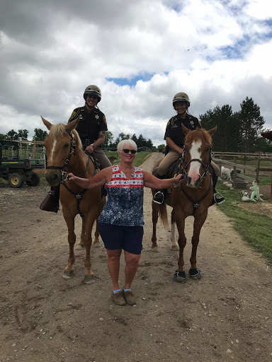 """Beth Pellerito - Certified by PATH in 2004Certified ELH (Experiential Learning with Horses)Involved with O.A.T.S since 1998 - started as a parent of a rider, volunteered, worked around the farm and in the office""""The horses are what draw us in but the smiles are what keep us going."""""""