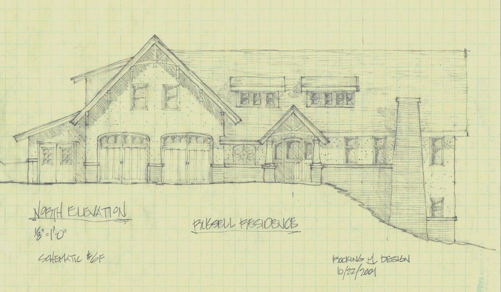 Design concept for legacy home near Georgetown Lake