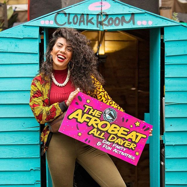 The love for Afrobeats is real since day 1💕 @afrobeatkaraoke always feels like home✊🏽 . . . #afrobeats #london#shoreditch #love#home #music #africanprints #madeinlagos #israeligirls #oldstreet #magicroundabout #live #love#laugh #africanfashion #africanstyle #curlywomen #peace#love #equality #madeinlagos #shoreditch #africaninspired  #africanfashion #worldfashion #art #inspiration #igdaily #londonvibe #shoreditchlife