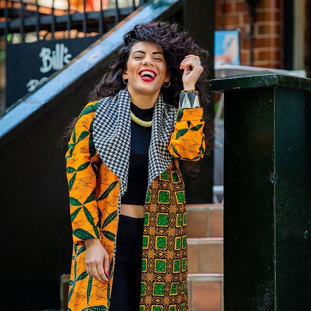Finding myself was the happy ending. 👘: @atmkollectionz🌻 📸: @maybe_rich . . . #live #love#laugh #africanfashion #africanstyle #curlywomen #peace#love #equality #madeinlagos #shoreditch #hoxtonsquare #africaninspired  #lagos#africanfashion #worldfashion #israeligirls #art #inspiration #igdaily #londonvibe #shoreditchlife #ankarafashion #ankarastyles