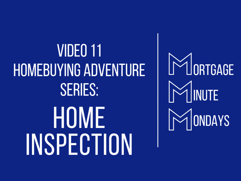 Video 11 Homebuying Adventure: Home Inspection