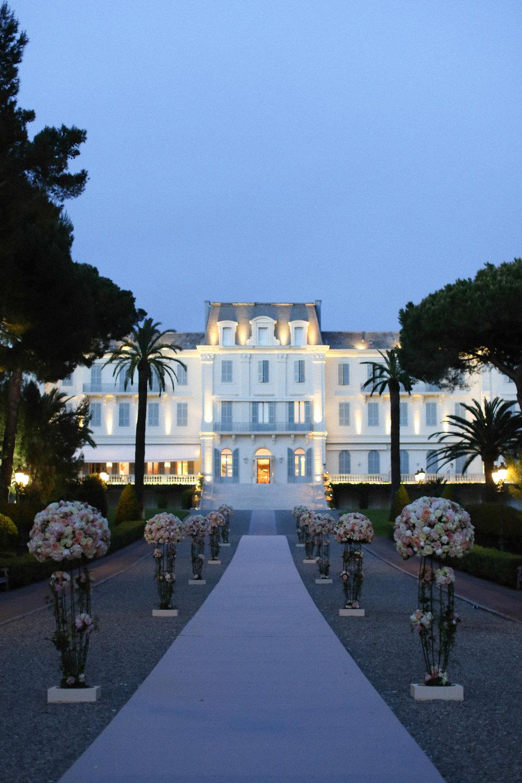 antibes, france - Hotel du Cap