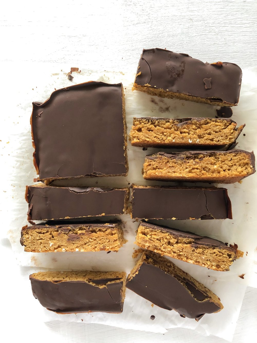 Healthy Peanut Butter Bars 3