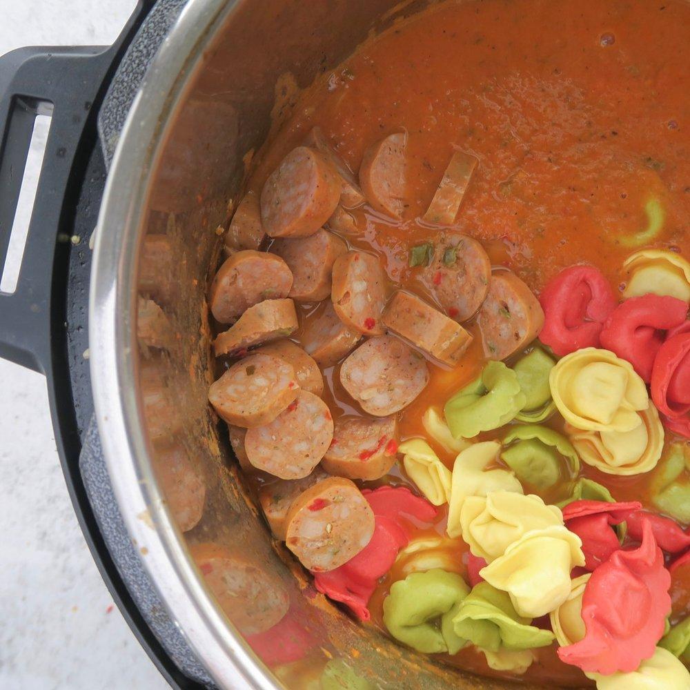 Veggie Tomato Soup Meal Prep, Instant Pot Meal Prep 3