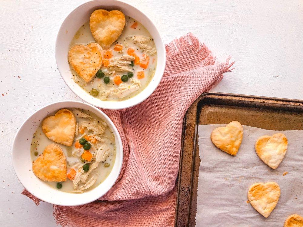 Macro Pot Pie Soup Meal Prep 1