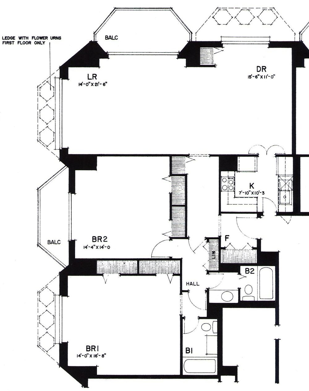 Two bedroom (Typical)
