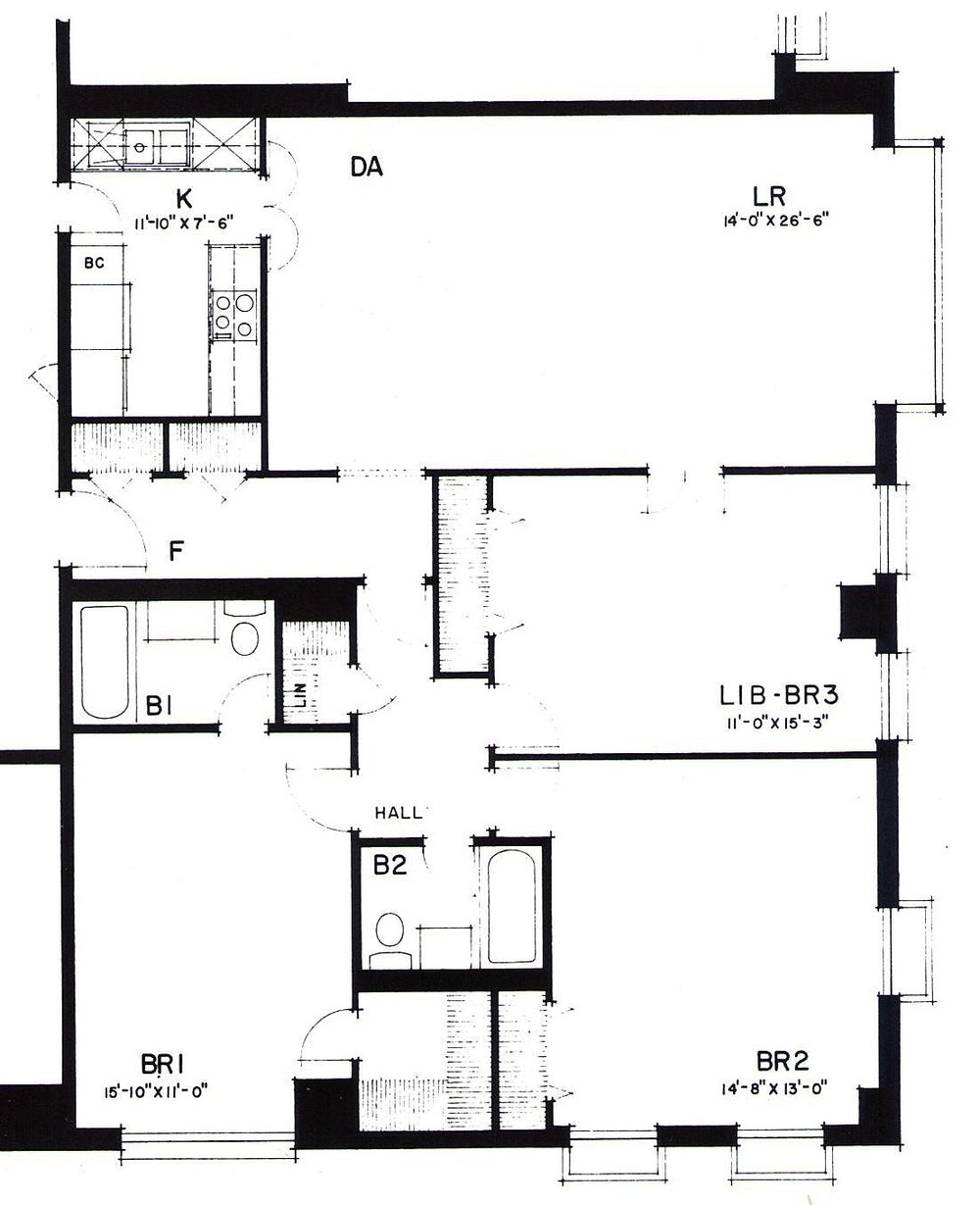 Three bedroom (Typical)