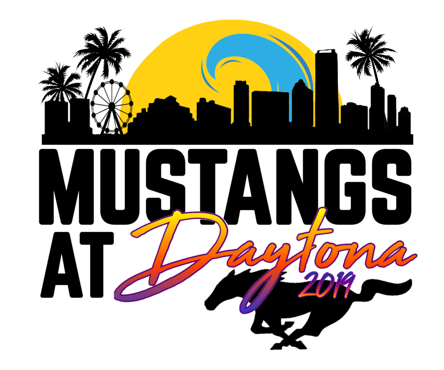MUSTANGS AT DAYTONA