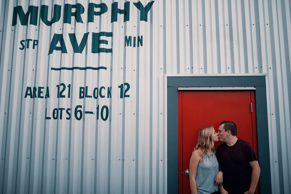 Engagement shoot at the Minnesota State Fair by Something Candid.