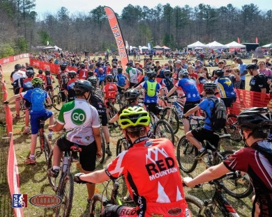 Start of a race in Alabama