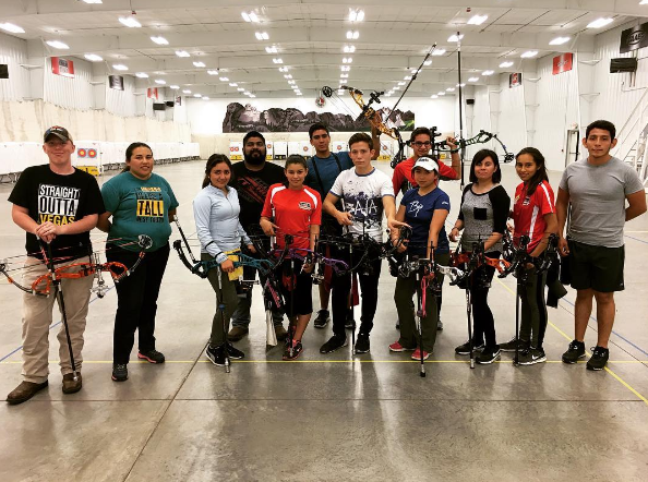Archery Team from Baja California Athletic Institute
