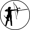 recurve archer icon